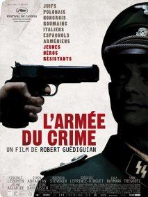 L'armée du crime. France, 2009. Drame historique de Robert Guédiguian avec Virginie Ledoyen, Simon Abkarian et Jean-Pierre Darroussin (139 minutes).