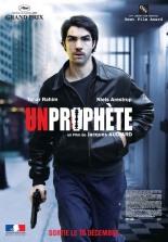 Un prophète. France-Italie, 2009. Drame de Jacques Audiard avec Tahar Rahim, Niels Arestrup et Adel Bencherif (155 minutes).