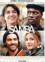 « Samba » . France. 2014. Comédie dramatique de Olivier Nakache, Éric Toledano avec Omar Sy, Charlotte Gainsbourg, Tahar Rahim (119 min.).