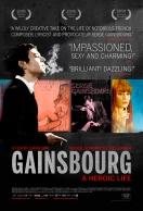 Gainsbourg, vie héroïque. France, 2010. Fantaisie biographique de Joann Sfar avec Eric Elmosino, Lucy Gordon et Laetitia Casta (135 minutes).