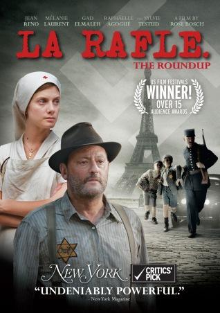 La Rafle. France-Allemagne-Hongrie, 2010. Drame historique de Roselyne Bosch avec Jean Reno, Mélanie Laurent et Gad Elmaleh (115 minutes).
