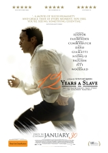 « Esclave pendant 12 ans ». États-Unis 2013. Drame biographique de Steve McQueen avec Chiwetel Ejiofor, Michael Fassbender, Lupita Nyong'o, Brad Pitt. (134 minutes).