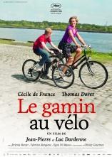 « Le gamin au vélo ». Belgique. 2011. Drame de Jean-Pierre et Luc Dardenne avec Thomas Doret, Cécile De France et Jérémie Renier. (84 minutes)