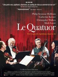 « Le Quatuor ». États-Unis. 2012. Drame de Yaron Zilberman avec Catherine Keener, Christopher Walken et Philip Seymour Hoffman. (105 minutes)