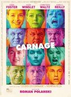 « Carnage ». France-Allemagne. 2012. Comédie dramatique de Roman Polanski avec Jodie Foster, Kate Winslet et Christoph Waltz. (80 minutes)