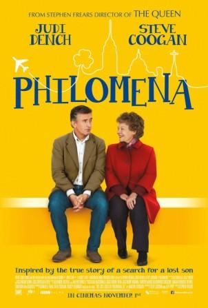 « Philomena ». Grande-Bretagne. 2013. Comédie dramatique de Stephen Frears avec Judi Dench, Steve Coogan, Anna Maxwell Martin. (99 minutes).