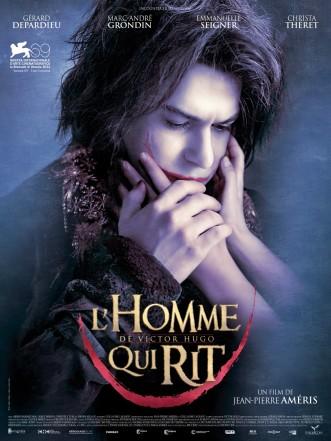 « L'homme qui rit ». France. 2012. Drame de Jean-Pierre Améris avec Gérard Depardieu, Marc-André Grondin et Christa Theret. (95 minutes)