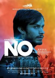 « No ». Chili-Mexique-États-Unis. 2012. Drame de Pablo Larrain avec Gael Garcia Bernal, Luis Gnecco et Antonia Zegers. (117 minutes)