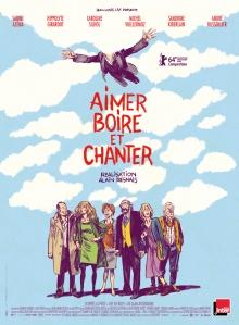 « Aimer, boire et chanter ». France 2013. Comédie d'Alain Resnais avec Sabine Azéma, Sandrine Kiberlain et Caroline Silhol (108 minutes).