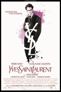 « Yves Saint Laurent ».France 2013. Drame biographique de Jalil Lespert avec Pierre Niney, Guillaume Gallienne et Charlotte Le Bon (164 minutes).