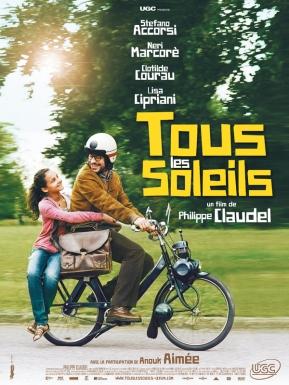Tous les soleils. France, 2011. Comédie de Philippe Claudel avec Stefano Accorsi, Lisa Cipriani et Neri Marcorè (105 minutes).