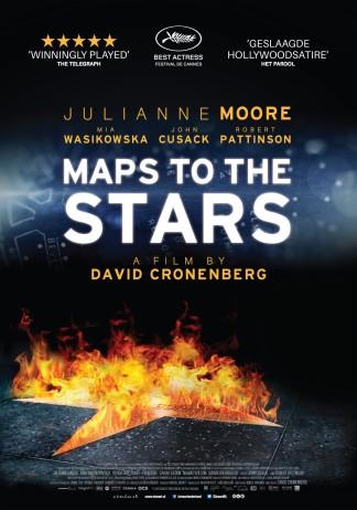 « La carte des étoiles ». Canada. 2014. Drame de moeurs de David Cronenberg avec Mia Wasikowska, Julianne Moore, John Cusack (111 min).