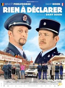 Rien à déclarer. France-Belgique, 2011. Comédie de Dany Boon avec Dany Boon, Benoît Poelvoorde et Julie Bernard (103 minutes).