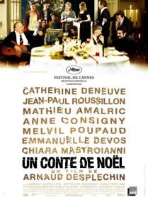 Un conte de Noël. France, 2008. Comédie dramatique d'Arnaud Desplechin avec Catherine Deneuve, Jean-Paul Roussillon et Mathieu Amalric (152 minutes).