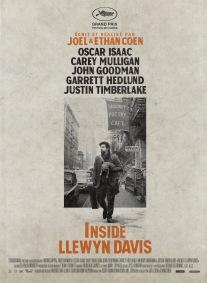 « Être Llewin David ». États-Unis. 2013. Drame musical de Ethan et Joel Coen avec Oscar Isaac, Carey Mulligan, John Goodman, Justin Timberlake. (105 minutes).