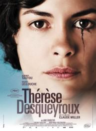 « Thérèse Desqueyroux ». France. 2012. Drame de Claude Miller avec Audrey Tautou, Gilles Lellouche et Anaïs Demoustier. (110 minutes)