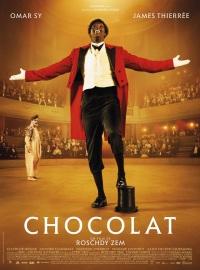 Chocolat. France, 2016. Drame biographique de Roschdy Zem avec Omar Sy, James Thiérrée, Olivier Gourmet (119 minutes).