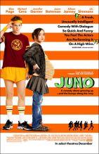 Juno. Canada, 2007. Comédie dramatique de Jason Reitman avec Ellen Page, Michael Cera et Jennifer Garner (96 minutes).