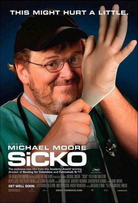 Malade. États-Unis, 2007. Documentaire de Michael Moore (123 minutes).