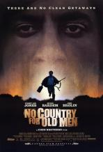 No country for old men. États-Unis, 2007. Suspense d'Ethan et Joel Coen avec Tommy Lee Jones, Javier Bardem et James Brolin (122 minutes).