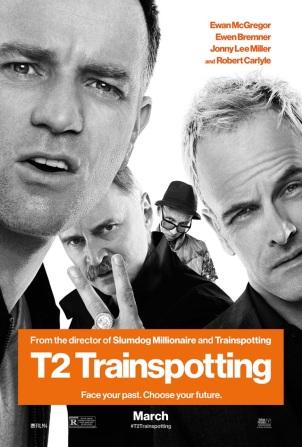 T2 Trainspotting. Grande-Bretagne, 2017. Comédie dramatique de Danny Boyle avec Ewan McGregor, Jonny Lee Miller et Anjela Nedyalkova (117 minutes).