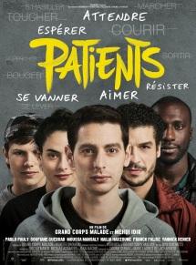 Patients. France, 2017. Drame psychologique de Grand Corps Malade et Mehdi Idir avec Pablo Pauly, Soufiane Guerrab et Moussa Mansaly (111 minutes).