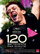 120 battements par minute. France, 2017. Drame social de Robin Campillo avec Nahuel Perez Biscayart, Arnaud Valois et Adèle Haenel (140 minutes).