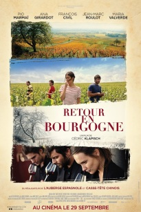 Retour en Bourgogne. France, 2017. Drame social de Cédric Klapisch avec Pio Marmaï, Ana Girardot et François Civil (114 minutes).