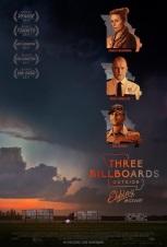 3 affiches tout près d'Ebbing, Missouri. États-Unis, 2017. Comédie dramatique de Martin McDonagh avec Frances McDormand, Sam Rockwell et Woody Harrelson (116 minutes).