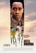 Hotel Rwanda. Grande-Bretagne, Italie, Afrique du Sud, 2004. Drame de guerre de Terry George avec Don Cheadle, Sophie Okonedo et Nick Nolte (122 minutes).