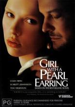 Jeune fille à la perle. Grande-Bretagne, Luxembourg, 2003. Comédie dramatique de Peter Webber avec Colin Firth, Scarlett Johansson et Tom Wilkinson (101 minutes).