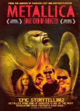 Metallica: Une espèce de monstre. États-Unis, 2004. Documentaire musical de Joe Berlinger et Bruce Sinofsky avec Kirk Hammet, James Hetfield et Lars Ulrich (141 minutes).