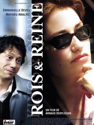 Rois et reine. France, 2004. Comédie dramatique d'Arnaud Desplechin avec Emmanuelle Devos, Catherine Deneuve et Mathieu Amalric (153 minutes).