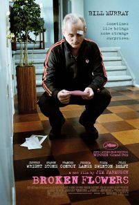 Broken Flowers. États-Unis, 2005. Comédie dramatique de Jim Jarmusch avec Bill Murray, Jeffrey Wright et Sharon Stone (105 minutes).