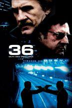 36 quai des orfèvres. France, 2004. Film d'action d'Olivier Marchal avec Daniel Auteuil, Gérard Depardieu et André Dussollier (110 minutes).