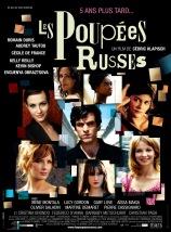 Les poupées russes. France, 2005. Comédie dramatique de Cédric Klapisch avec Romain Duris, Kelly Reilly et Audrey Tautou (129 minutes).