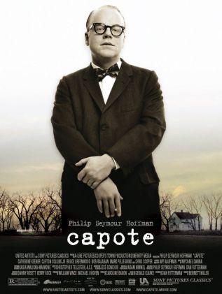 Capote. États-Unis, 2005. Drame de Bennett Miller avec Philip Seymour Hoffman, Catherine Keener et Clifton Collins Jr. (114 minutes).