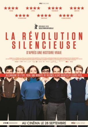 La révolution silencieuse. Allemagne, 2018. Drame historique de Lars Kraume avec Leonard Scheicher, Tom Gramenz et Lena Klenke (111 minutes).