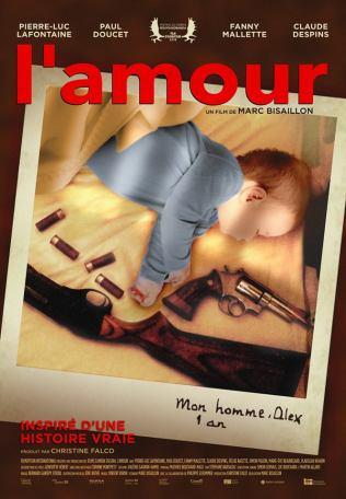L'amour. Québec, 2018. Drame de Marc Bisaillon avec Pierre-Luc Lafontaine, Paul Doucet et Fanny Mallette (86 minutes).