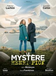 Le mystère Henri Pick. France, 2019. Comédie de Rémi Bezançon avec Fabrice Luchini, Camille Cottin et Alice Isaaz (101 minutes).