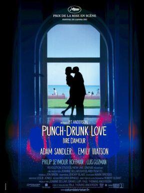 Ivre d'amour. États-Unis, 2002. Comédie dramatique de Paul Thomas Anderson avec Adam Sandler, Emily Watson et Philipe Seymour Hoffman (95 minutes).