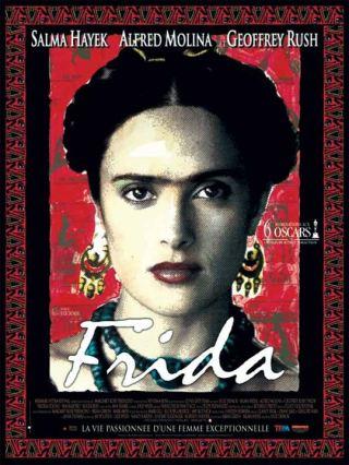 Frida. États-Unis, 2002. Biographie de Julie Taymor avec Salma Hayek, Alfred Molina et Antonio Banderas (123 minutes).
