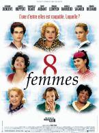 8 femmes. France, Italie, 2002. Comédie dramatique musicale de François Ozon avec Danielle Darrieux, Catherine Deneuve et Isabelle Huppert (111 minutes).