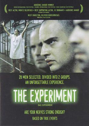 L'expérience. Allemagne, 2001. Thriller d'Oliver Hirschbiegel avec Moritz Bleibtreu, Christian Berkel et Andrea Sawatzki (120 minutes).