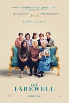 The farewell. États-Unis, 2019. Drame de Lulu Wang avec Awkwafina, Shuzhen Zhao et Tzi Ma (100 minutes).