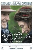 Les plus belles années d'une vie. France, 2019. Drame de Claude Lelouch avec Jean-Louis Trintignant, Anouk Aimée et Souad Amidou (91 minutes).