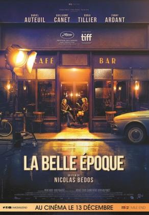 La belle époque. France, 2019. Drame sentimental de Nicolas Bedos avec Daniel Auteuil, Doria Tillier et Fanny Ardant (115 minutes).